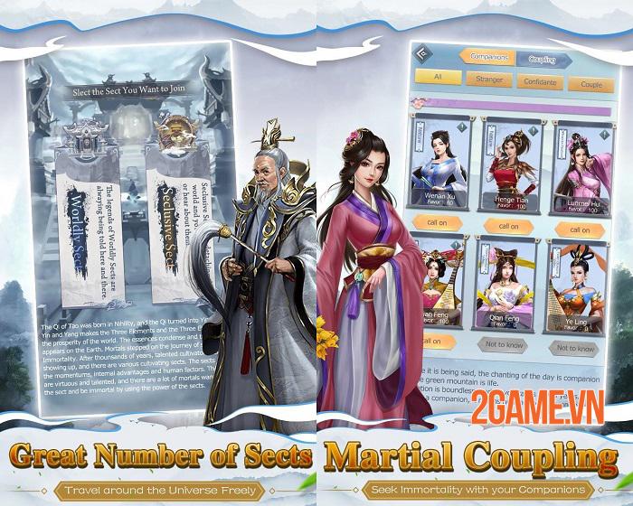Mộng Huyễn Phi Tiên - Game tu tiên chơi tự động với gameplay khá dị 1