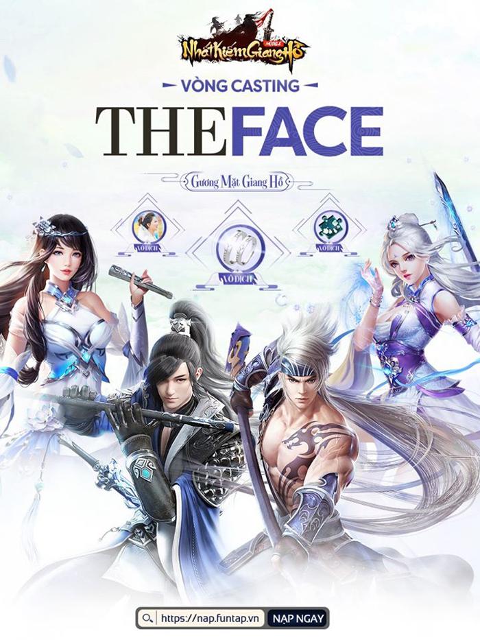 Cộng đồng Nhất Kiếm Giang Hồ nô nức tham gia cuộc thi The Face Nhất Kiếm 0