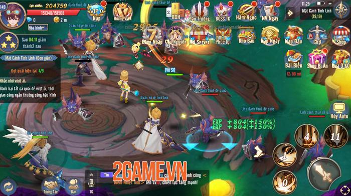 Thánh Linh 3D sở hữu lối chơi quen thuộc nhưng lại vô cùng cuốn hút 3