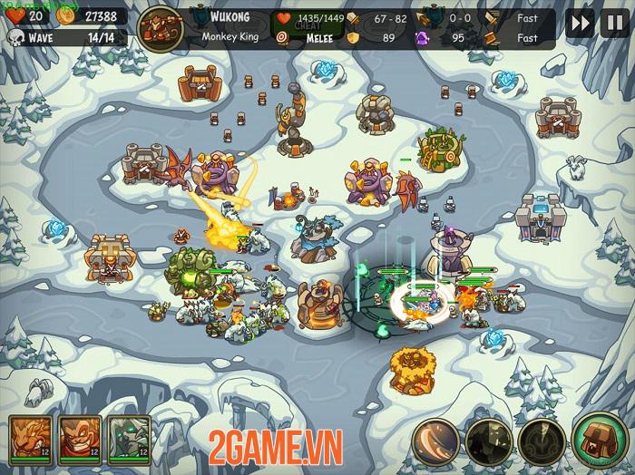 Empire Warriors Premium - Game phòng thủ tháp có lối chơi gây nghiện 1