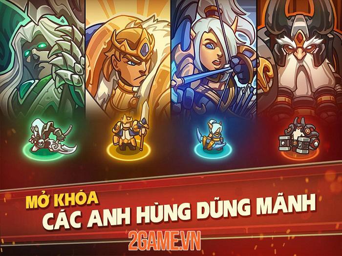 Empire Warriors Premium - Game phòng thủ tháp có lối chơi gây nghiện 4