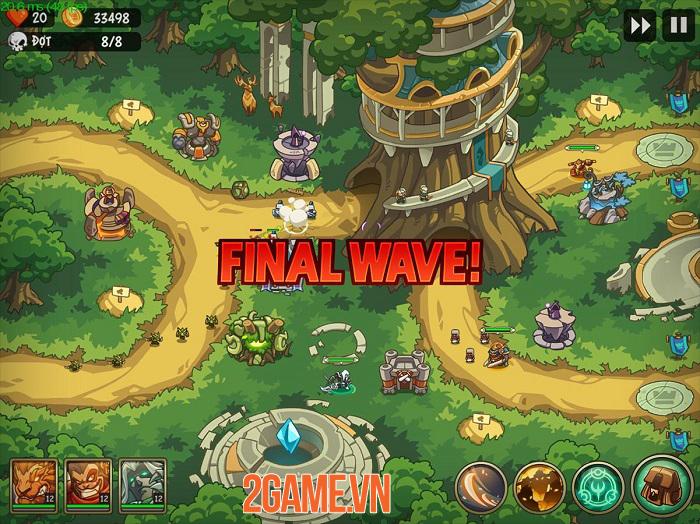 Empire Warriors Premium - Game phòng thủ tháp có lối chơi gây nghiện 2