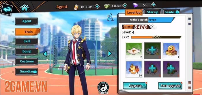 Night Agent - Game nhập vai hành động phong cách anime ấn tượng 3