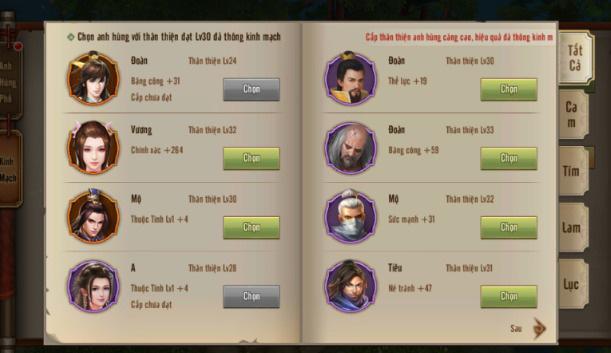 Vừa xuất thế trong Tân Thiên Long Mobile, Đường Môn đã chiếm vị thế độc bá 5
