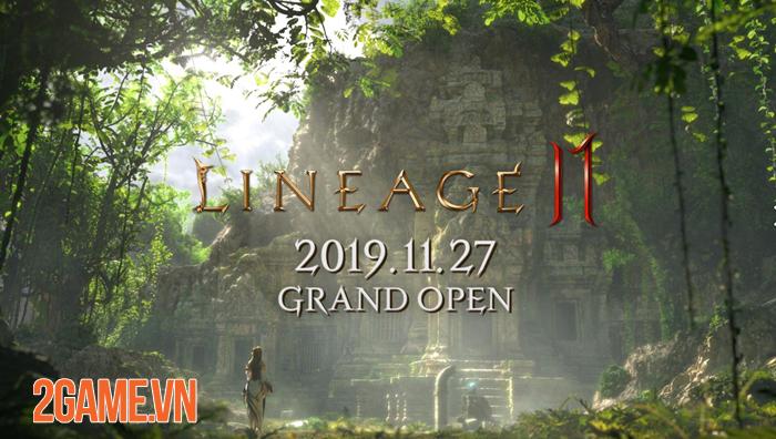 Lineage 2M - Bom tấn game nhập vai chất lượng Hàn Quốc công bố ngày ra mắt 3