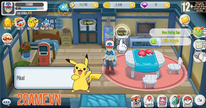 Poke Origin mở ra một thế giới Pokemon quen thuộc và kỳ thú 2