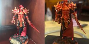 Người chơi MU Awaken VNG thi nhau khoe mô hình tượng nhân vật DK