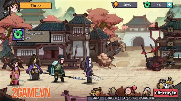 Tactical Three Kingdoms - Game chiến thuật đề tài Tam Quốc với phong cách độc đáo 1