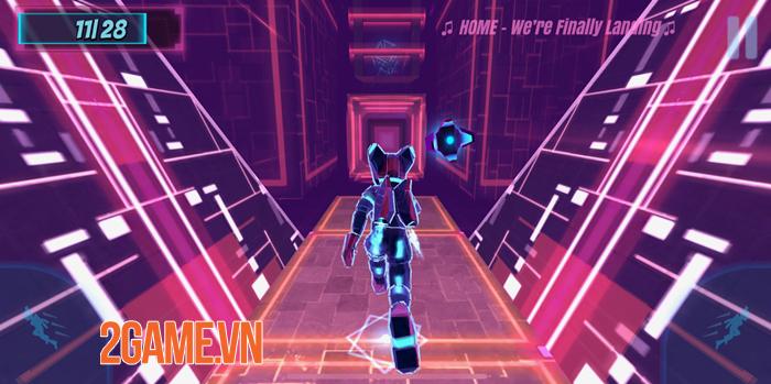 Synthwave Run - Game chạy vượt chướng ngại vật trên nền nhạc Synthwave độc lạ 0