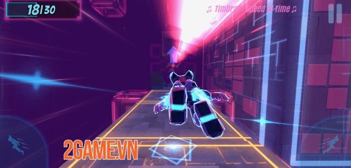 Synthwave Run - Game chạy vượt chướng ngại vật trên nền nhạc Synthwave độc lạ 1