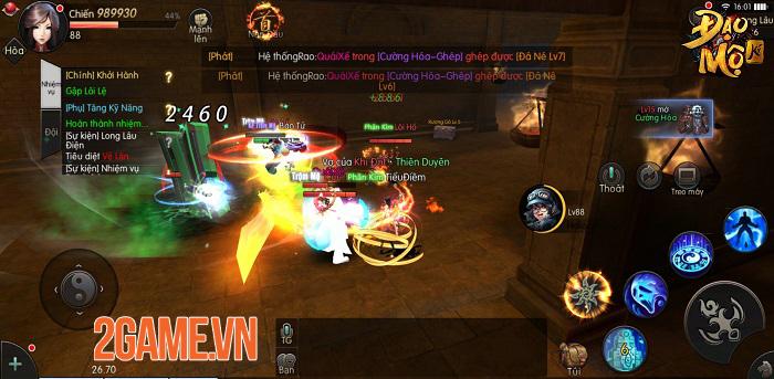 Đạo Mộ Ký Mobile là game phiêu lưu khảo cổ đầu tiên của làng game Việt 2
