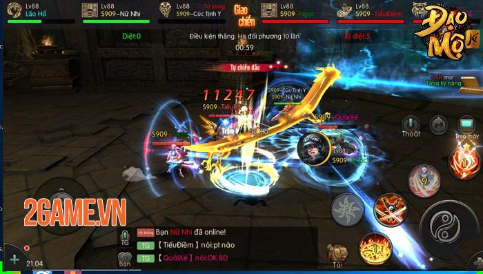Đạo Mộ Ký Mobile là game phiêu lưu khảo cổ đầu tiên của làng game Việt 4