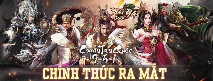 Tặng 555 giftcode game Tam Quốc 94 1