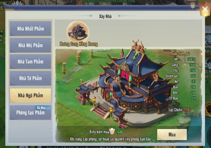 Tinh Vân Kiếm Mobile ra mắt bản big update Đại Chiến Gia Viên 3