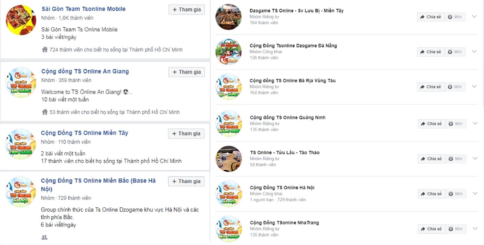 Cộng đồng TS Online Mobile hoạt động mạnh mẽ sau 2 tháng ra mắt 1