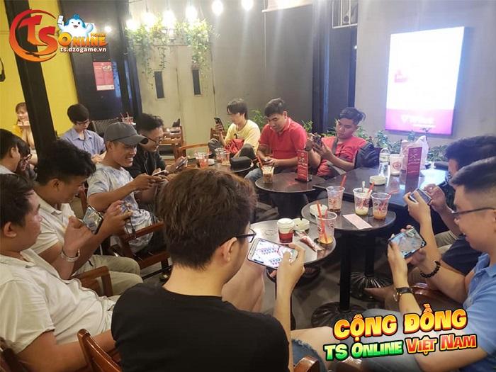 Cộng đồng TS Online Mobile hoạt động mạnh mẽ sau 2 tháng ra mắt 3