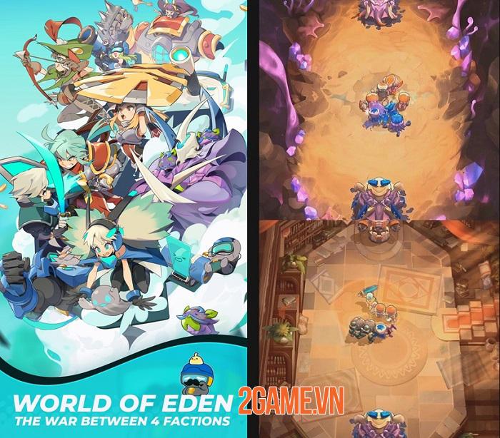 Soul of Eden - Game mobile kết hợp hoàn hảo cùng lúc nhiều thể loại đặc sắc 0