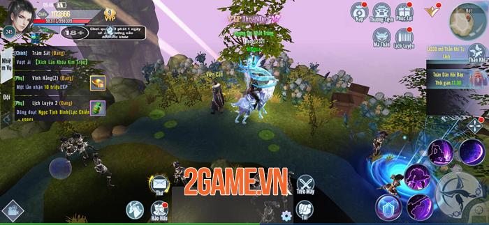 Kiếm Tiên 3D Mobile - Game PK cướp boss giựt đồ cập bến Việt Nam 4