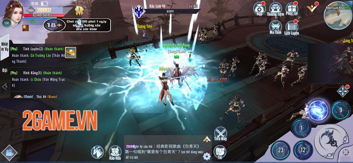 Kiếm Tiên 3D Mobile - Game PK cướp boss giựt đồ cập bến Việt Nam 5