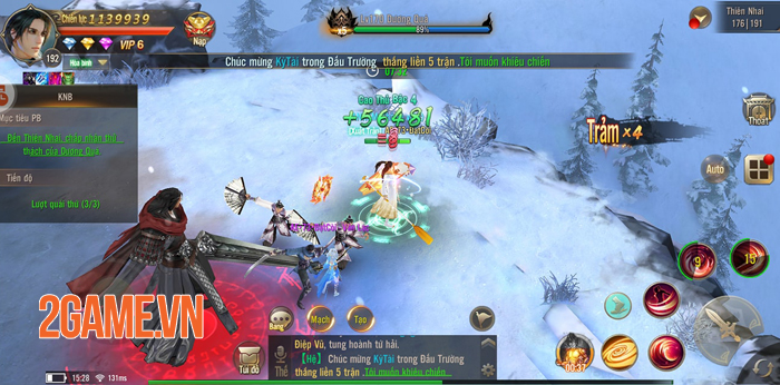 Game Tuyệt Thế Võ Lâm cũng sở hữu chiến trường Chính - Tà vô cùng hấp dẫn 0