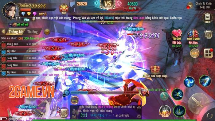 Game Tuyệt Thế Võ Lâm cũng sở hữu chiến trường Chính - Tà vô cùng hấp dẫn 2