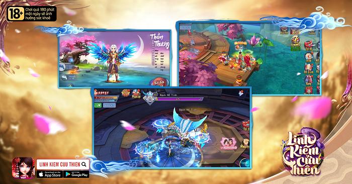 NPH VGP ra mắt game mới Linh Kiếm Cửu Thiên Mobile 1