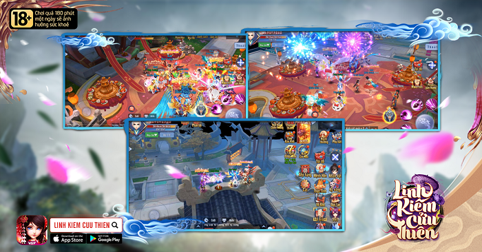 NPH VGP ra mắt game mới Linh Kiếm Cửu Thiên Mobile 4