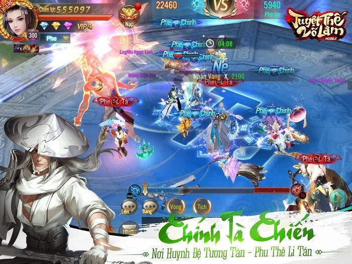 Game Tuyệt Thế Võ Lâm cũng sở hữu chiến trường Chính - Tà vô cùng hấp dẫn 1