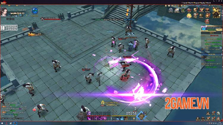Kiếm Vũ Giang Hồ 3D khiến game thủ PC mê mẩn trải nghiệm tới quên cả thời gian 3