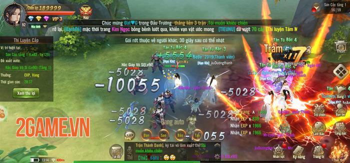 Game Tuyệt Thế Võ Lâm gây ấn tượng với hệ thống phát triển nhân vật đồ sộ 1