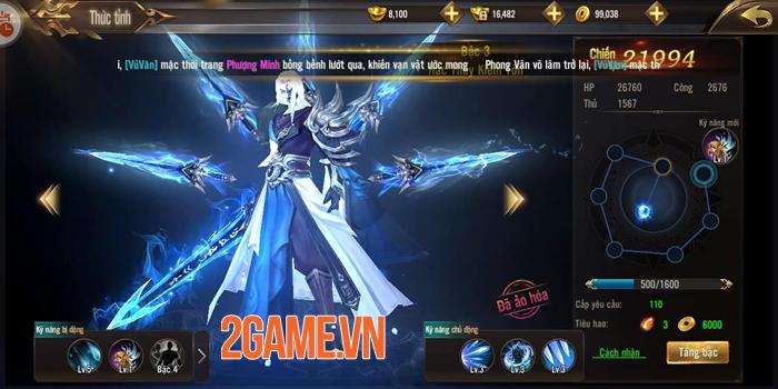Game Tuyệt Thế Võ Lâm gây ấn tượng với hệ thống phát triển nhân vật đồ sộ 5