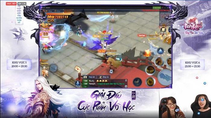 Vượt mặt loạt cao thủ Tình Kiếm 3D, Haiquan lên ngôi vương Cực Phẩm Võ Học mùa 4 0