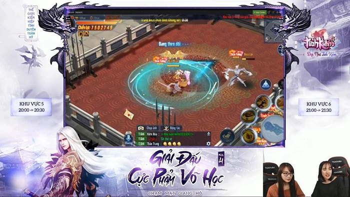 Vượt mặt loạt cao thủ Tình Kiếm 3D, Haiquan lên ngôi vương Cực Phẩm Võ Học mùa 4 1
