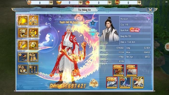 Vượt mặt loạt cao thủ Tình Kiếm 3D, Haiquan lên ngôi vương Cực Phẩm Võ Học mùa 4 5