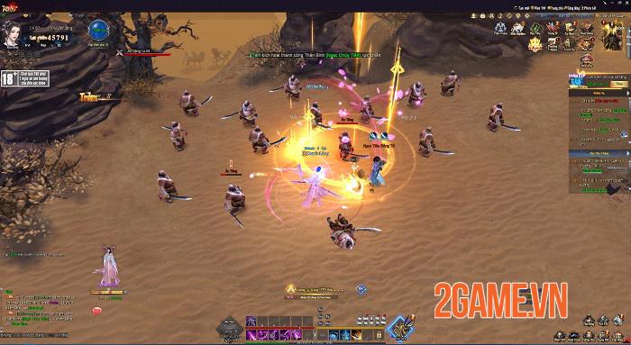 Kiếm Vũ Giang Hồ 3D khiến game thủ PC mê mẩn trải nghiệm tới quên cả thời gian 7