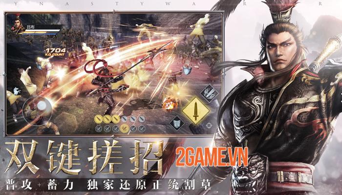 Shin Dynasty Warriors lấy cảm hứng từ Dynasty Warriors 8 với cải tiến về đồ hoạ 0