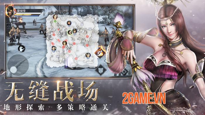 Shin Dynasty Warriors lấy cảm hứng từ Dynasty Warriors 8 với cải tiến về đồ hoạ 2