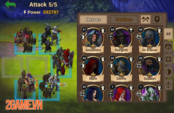 Game nhập vai chiến thuật hoàn hảo Chaos Lord hỗ trợ ngôn ngữ tiếng Việt 2
