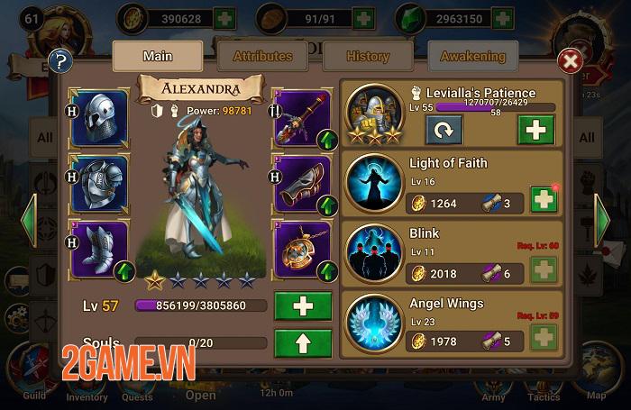 Game nhập vai chiến thuật hoàn hảo Chaos Lord hỗ trợ ngôn ngữ tiếng Việt 3
