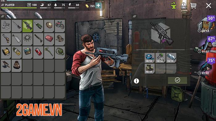 Dark Days: Zombie Survival có lối chơi như Last Day on Earth nhưng đồ hoạ 3D mới lạ 1