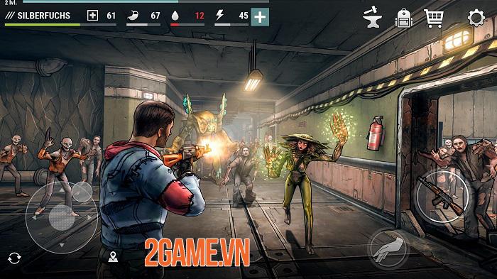Dark Days: Zombie Survival có lối chơi như Last Day on Earth nhưng đồ hoạ 3D mới lạ 2