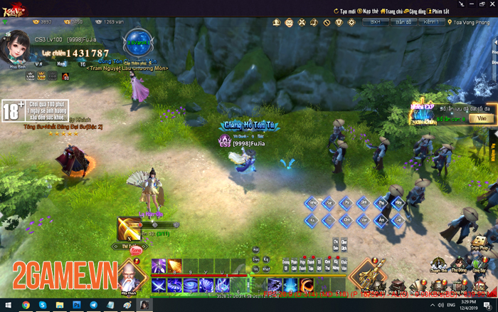 Kiếm Vũ Giang Hồ 3D đưa những giá trị trải nghiệm game PC trở về! 0