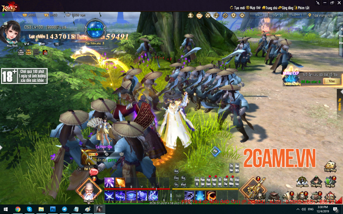 Kiếm Vũ Giang Hồ 3D đưa những giá trị trải nghiệm game PC trở về! 6