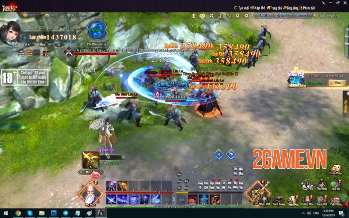 Kiếm Vũ Giang Hồ 3D đưa những giá trị trải nghiệm game PC trở về! 1
