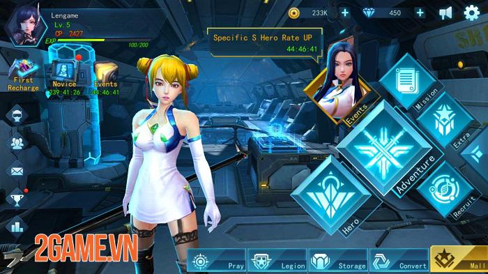 Angel Legion - Game nhập vai nhàn rỗi với dàn nhân vật nữ xinh lung linh 0