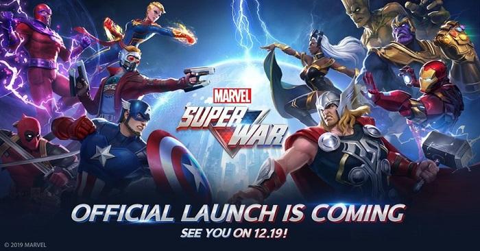 Marvel Super War công bố ngày ra mắt chính thức phiên bản toàn cầu 3