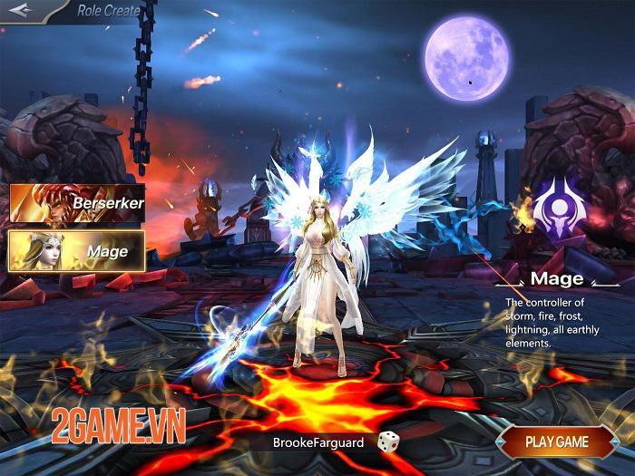 Realm of Chaos: Battle Angels - Game nhập vai bối cảnh châu Âu với đồ hoạ 3D sống động 1