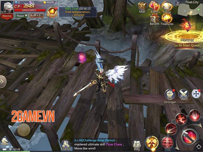 Realm of Chaos: Battle Angels - Game nhập vai bối cảnh châu Âu với đồ hoạ 3D sống động 0