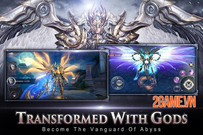 Rage of Gods - Game nhập vai cho phép nhân vật kết hợp biến hình với các vị thần 0