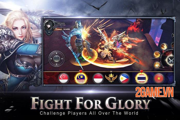 Rage of Gods - Game nhập vai cho phép nhân vật kết hợp biến hình với các vị thần 3